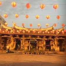 台湾 鹿港の龍山寺 ああ台湾に行きたいわん