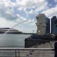 《シンガポール》 マーライオン  2016.03