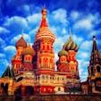 赤の広場にある聖ワシリイ大聖堂