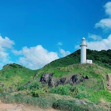 石垣御神崎灯台。 灯台からは、海が一望できます✨