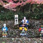 """桃太郎神社 ★★★☆☆  古い街並みが今なお残ることから""""尾張の小京都""""とも称されている愛知県犬山市。街のシンボルであり国宝に指定され愛知県を代表する観光名所・犬山城の近くにある安産などの御利益のある神社  コメント 名古屋に住んでた時に行った神社。なぜ犬山に桃太郎?という疑問はさておき、紅葉が綺麗で、桃太郎に出てくるキャラクターのモニュメントが楽しめる素敵な神社でした  #桃太郎神社"""