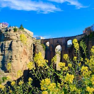 📍Ronda, Spain スペインのアンダルシア州マラガ県にある街、ロンダ。 断崖絶壁に立つパラドールからの景色が最高だった! 下から見るヌエボ橋も絶景。