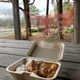 大芝高原 キッチンカーでカレーを入手し、深まる秋を感じてみる。