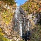 秋田県の安の滝  補正していません。 自然の美しさに驚愕しました。