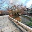京都祇園巽橋 写真は巽橋からで、新橋が見えますね。   #京都 #祇園 #全国橋巡り #サント船長の写真