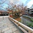 京都祇園巽橋 写真は巽橋からで、新橋が見えますね。   #京都 #祇園 #全国橋巡り #サント芹沢鴨の写真