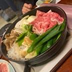 京都 仲よし 貴船でのすき焼きは贅沢🥰お肉が美味しかった〜