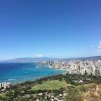 hawaii  #ダイヤモンドヘッド #また行きたい場所