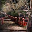 京都 貴船神社 インスタでよく見る写真!紅葉散っちゃってた〜😢🍁