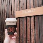 ALL PRESS ESPRESSO☕️  清澄白河にあるカフェ。 ニュージーランドで創業したカフェだそうです🇳🇿 今はまだテイクアウトのみなので、 落ち着いたら店内でゆっくり出来るのを 楽しみにしておこう…😌