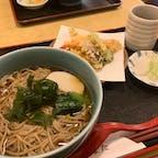 そば処 かつまた🥢  箱根強羅にある蕎麦屋さん。 強羅は蕎麦が有名なの…??🤔 一緒にきた天ぷらも美味しかった〜!!✨