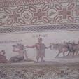 キプロス パフォス 古代のモザイクの一つ