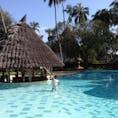 ケニアのモンバサのプール。