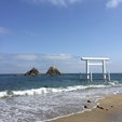 桜井二見ヶ浦、夫婦岩 #福岡 #糸島 #ドライブ #2歳子連れ旅 2020.6月