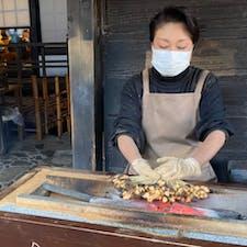 一和 一和の此のお姉さんは、気持ちが良い程愛想があって美人ですね、家庭ではどんなお母さんかなぁ?  #京都 #美味しい巡り #サント船長の写真