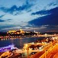 ハンガリー。ブタペスト。ドナウ川。