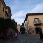 イタリア マルケ州グラダーラ 最も美しい村加盟 グラダーラ城の入り口