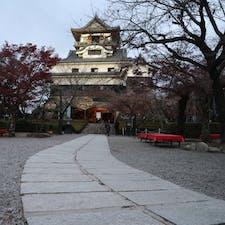 【愛知県】 犬山城🏯 滞在時間わずか10分。 閉城時間ギリギリに着いたため。 #日本百名城