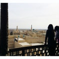 【🇺🇿Uzbekistan/Xiva】 イチャン・カラ 柱ひとつひとつにも綺麗な彫刻がされてる。 時間を忘れて町を眺めてしまう。 #世界遺産