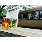 """【群馬県】 神戸(ごうど)駅🚉 列車レストラン""""清流""""があり、 列車内で食事ができます。"""