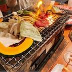 #ニセコロフト倶楽部 #ニセコ #北海道 2020年12月  #ジンギスカン というよりラム肉の焼肉...? どちらにせよ美味しくてあっという間になくなった😋😋