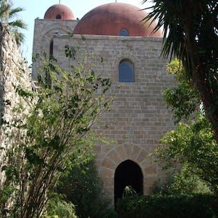 パレルモのシンボルの一つ サン・ジョヴァンニ・デッリ・エレミティ教会 行くと必ず寄ります