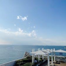 . . 海ほたる🐚🚢  360度、海!!! 天気も良くて気持ちよかった〜✨