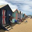 Brighton Beach 🇦🇺  約90個ある中、自分のお気に入りの柄や絵の家を探すの楽しかったなぁ🏠☀️