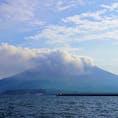 桜島噴火  最近、自然災害の被害がどんどん大きくなって来ているのが怖い…  #桜島 #鹿児島 #噴火 #自然災害 #入山規制 #火山