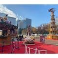 東京 日比谷公園 お昼のクリスマスマーケット🎄時間外でも世界観が可愛かった〜