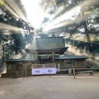 鹿島神宮にて