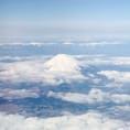 宮崎に行く飛行機から撮った富士山🗻