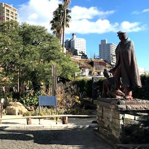 熱海海岸 貫一・お宮の像   #銅像石像 #サント船長の写真