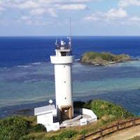 平久保崎灯台 沖縄県石垣島石垣市の最北端の灯台です。  #全国灯台巡り #サント芹沢鴨の写真
