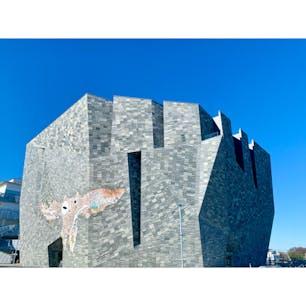 Kadokawa Musashino Museum    #higashitokorozawa #tokorozawa #musashino #saitama #japan #library #museum #art  #東所沢 #埼玉 #日本 #角川武蔵野ミュージアム #アマビエ