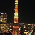 夏バージョン🗼✨ #東京 #浜松町 #東京タワー