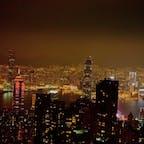 香港といえばやっぱり夜景🌃 #香港 #夜景