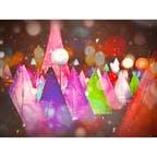 #彩凛華 #彩凛華2021 #音更 #十勝が丘公園 #北海道 #十勝  2021年1月23日〜2021年2月21日まで規模を縮小して開催中✨ 真冬の雪原を彩る、光と音のファンタジックショー🥰