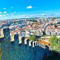 リスボンのサンジョルジェ城からの眺め  #ポルトガル #リスボン #アルファマ #サンジョルジェ城