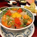 #東三河海鮮丼セット  #愛知 #豊橋 #やまと食堂