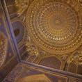 『🇺🇿Uzbekistan/Samarkand】 ティラカリ・メドレセ 私は建物の天井が好きです。