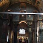 イスタンブル カーリエ博物館 残念なことに大統領は最近ここもモスクに変えたそうだ。どうしてそんな愚かなことをするのだろう。