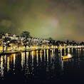 アムステルダムの夜  #オランダ #アムステルダム #運河