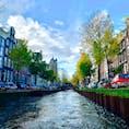 アムステルダム  #オランダ #アムステルダム #運河