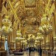 パリ オペラ・ガルニエ グラン・フォワイエはオペラを観に来た人たちが休憩時間を過ごす部屋のようなんだけど、きらびやかすぎた😳 憧れのおパリを感じた✨