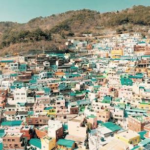 釜山の甘川文化村