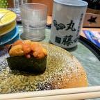 地魚回転寿司 丸藤🍣  東条海岸の近くにあるお寿司屋さん。 生サーモンが柔らかくて美味…😭 写真ウニだけど…😭