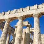 ギリシャ エーゲ海エギナ島 アフェア神殿