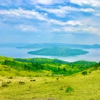 美幌峠から眺める屈斜路湖  #美幌峠 #屈斜路湖 #北海道