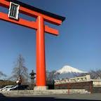 1日遅れたけど、昨日は富士山の日ということで、浅間大社から1枚。